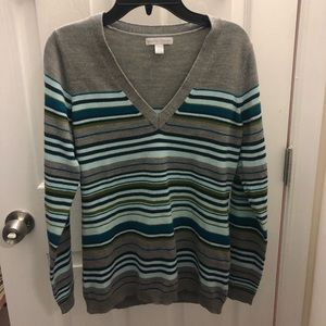 New York & Co. Stripped Sweater